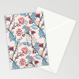 Floral pattern 8700 Stationery Cards