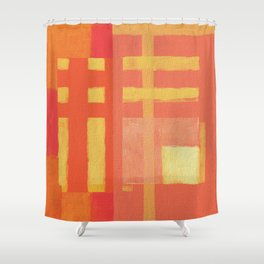 Urban Intersections 1 Shower Curtain