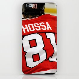 marian hossa // chicago blackhawks iPhone Skin