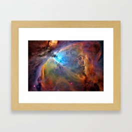 Orion Nebula Framed Art Print