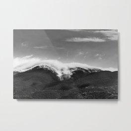 CLOUD WRAP Metal Print