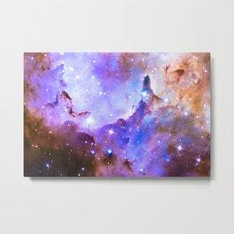 Intergalactic Stars Metal Print