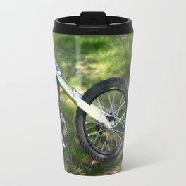 Spinning Chrome Travel Mug