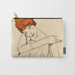 Egon Schiele - The Dancer 1913 Carry-All Pouch