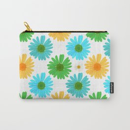 Color My Daisies Carry-All Pouch