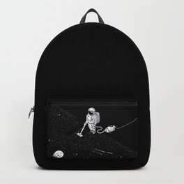 Space Clean Up by Astronaut Backpack