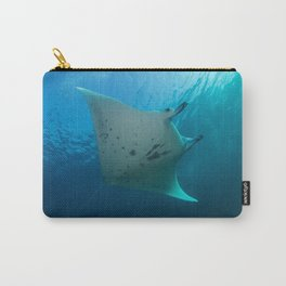 Manta ray Carry-All Pouch