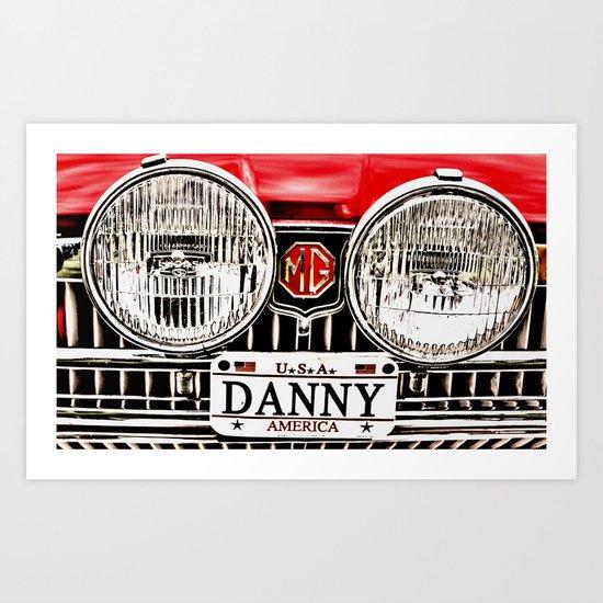 MG Danny Art Print