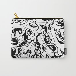 Abstract Line Art Suns Carry-All Pouch