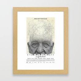 GEOMETRY CONFIDENTIAL Framed Art Print
