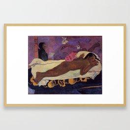 Paul Gauguin- The Spirit of the Dead Keep Watch Framed Art Print