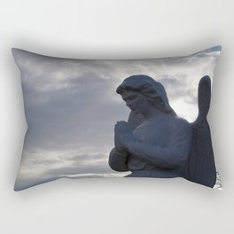 An Evening Prayer Rectangular Pillow