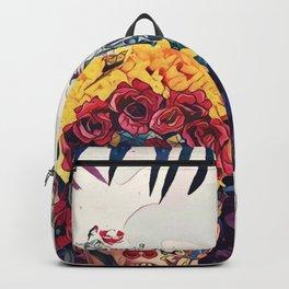 Floral man Backpack