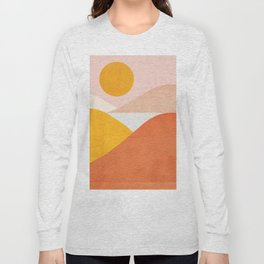 Abstraction_Mountains Long Sleeve T-shirt