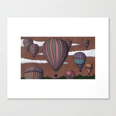 balloon party Canvas Print