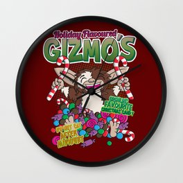 Holiday flavoured Gizmo´s Wall Clock