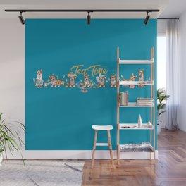 Tea Time Wall Mural