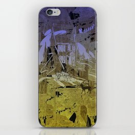Little Chistmas Snow family iPhone Skin