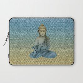 Buddha with dog4 Laptop Sleeve