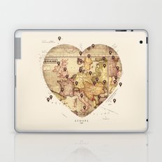 Love to Travel Laptop & iPad Skin