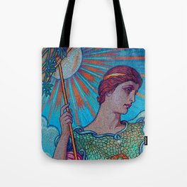 Minerva Goddess Of Wisdom Tote Bag