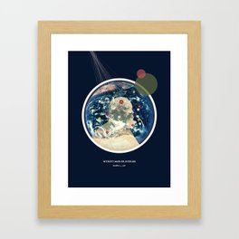 Withovt Maps or Svpplies Framed Art Print