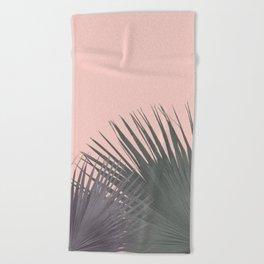 TWO PALM LEAVES Beach Towel