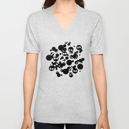 Cute Susuwatari Infestation Unisex V-Neck