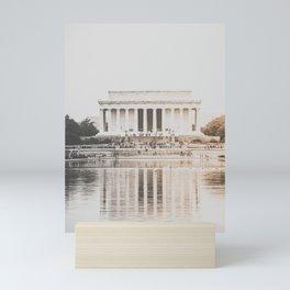 Lincoln Memorial at Dusk Mini Art Print