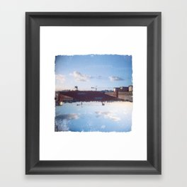 Upside Down #2 Framed Art Print