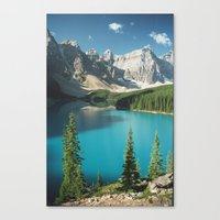 canada Canvas Prints featuring Canada by Rachel Pagdin