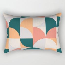 Mid Century Geometric 17 Rectangular Pillow