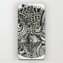 Psycho Bird iPhone Skin
