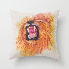 Ink Animals of Africa Throw Pillow