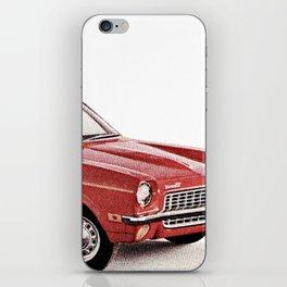 1970's Chevy Vega iPhone Skin