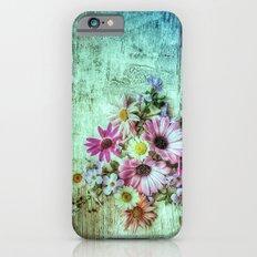 Floored Flowers iPhone 6 Slim Case