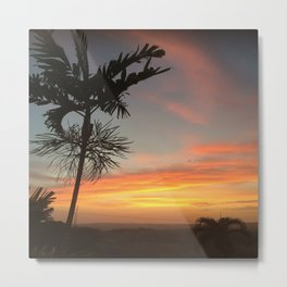 Country Sunsets Metal Print