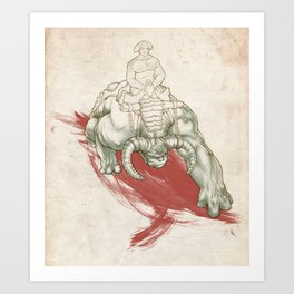 Rise of the Dominators Art Print