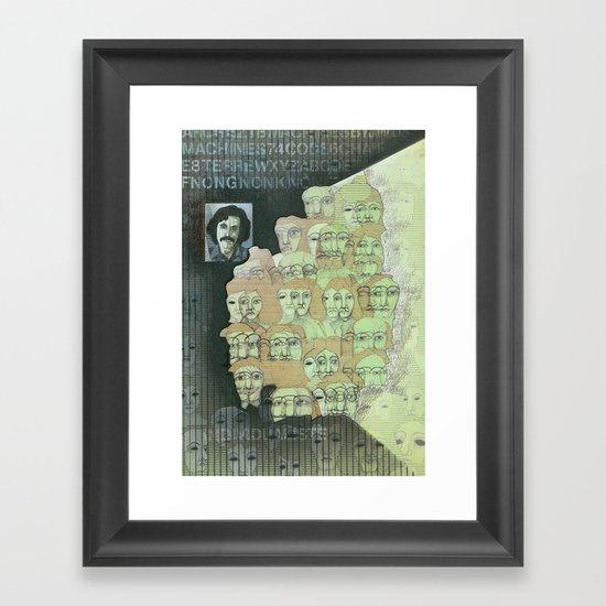 The individualist Framed Art Print