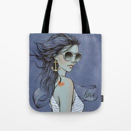 sailor girl Tote Bag