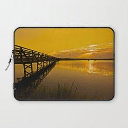 Bolsa Chica Wetlands Sunrise  8/26/13 Laptop Sleeve