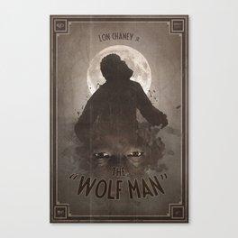 Horror Classics - The Wolf Man Canvas Print