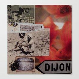 Dijon Canvas Print