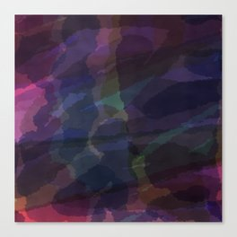 CAMOUFLAGE LILAC Canvas Print