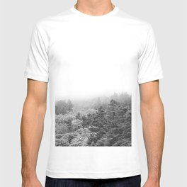 Forest Photography | Black and White T-shirt