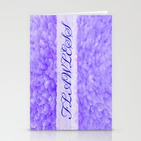 flawless Stationery Cards featuring FLAWLESS by Saundra Myles