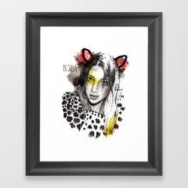Bestia Framed Art Print