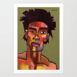 Likes to Party Art Print