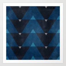 Greece Arrow Hues Art Print