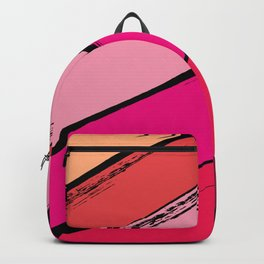 diagonal stripes Backpack